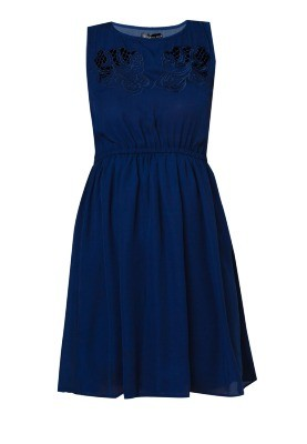 SOMETHING BORROWED Over Layers Dress